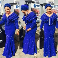 Must See Trendy Ankara Aso Ebi Styles - Lab Africa African Lace Dresses, Latest African Fashion Dresses, African Dresses For Women, African Print Fashion, Africa Fashion, African Attire, African Wear, African Women, Nigerian Fashion