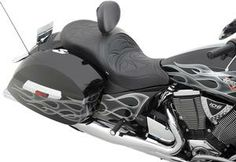 Low Profile Touring Seat With Built-In Backrest Full-Stitch Style- Victory Cross Country Cross Roads 10- 13 - DS-0810-1545 Review Buy Now