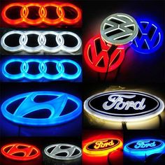Car Badges, Car Logos, Led Logo, Car Cleaning Hacks, Cool Gadgets To Buy, Truck Accessories, Ford Fusion Accessories, Cool Inventions, Car Audio