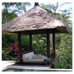 """A """"Dickey Roof"""" and Ohia posts would make this very Hawaii Style"""