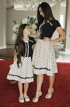 s Clothing Children' Mom Daughter Matching Outfits, Mom And Baby Outfits, Mother Daughter Dresses Matching, Mother Daughter Fashion, Family Outfits, Kids Outfits, Mom Dress, Baby Dress, Fashion Kids