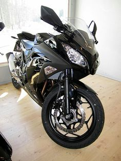 File:Kawasaki Ninja 300cc 2013.JPG. Possibly going to be my first bike...