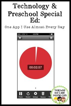 Technology and Preschool Special Ed: One App I Use Almost Every Day