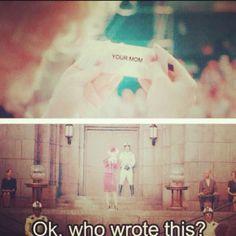 Hunger Games joke. Gets me everytime. haha