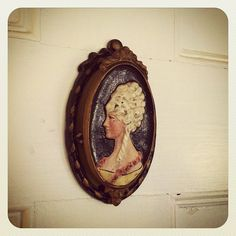 cameo door knocker