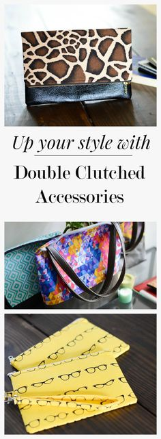 Discover modern, chic, and unique handbags, clutches, and fashion accessories that compliment your individual style.