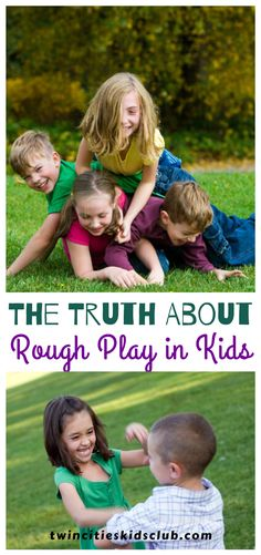 Twin Cities Kids Club Blogs:  The Truth About Rough Play in Kids - Perhaps you are worried that your kids are the only ones that fight with one another like they are in a wrestling match. Maybe you worry that rough play in kids means that they are secretly dealing with anger issues. #kids #games #fungames #indoorgames #kids #kidsactivities #gameday #gameart #gamenight #kidsroomideas #kidscrafts #parents #parenting #parentingtips Activities For 2 Year Olds, Indoor Activities, Infant Activities, Play Based Learning, Fun Learning, Kids And Parenting, Parenting Hacks, Dealing With Anger, Track Meet