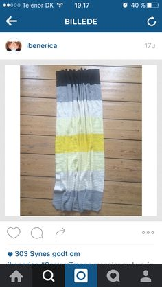Inspiration til tæppe, fra @ibenerica