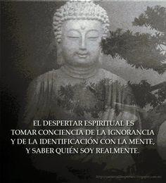 ... El despertar espirtual es tomar conciencia de la ignorancia y de la identificación con la mente, y saber quién soy realmente.