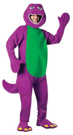 Maybe hubs will be dressing up as barney for M's birthday :)