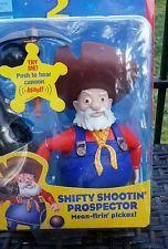Toy Story 2 Mattel Shifty Shootin Prospector Stinky Pete Gold