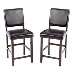 Intercon Lofts Parsons Counter Height Chairs - Set of 2 - INTC030