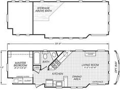 excellent 8'x20' tiny house floor-plan! | i love tiny house