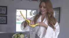 Ximena Cordoba comparte su secreto para mantener el vientre plano. La receta es muy facil solo requiere de mucha voluntad, un vaso de agua caliente y un limon antes de acostarse.