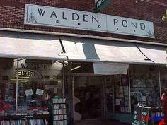 Yay for independent book stores.  Walden Pond bookstore Oakland, CA