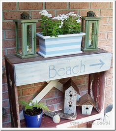 coastal decorations and crafts