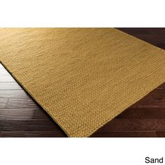 Hand Woven Reese Contemporary Solid Braided New Zealand Wool Area Rug (2' x 3') (