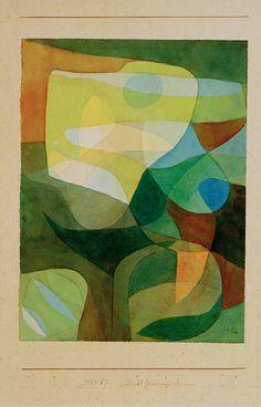Paul Klee - Lichtbreitung I, 1929