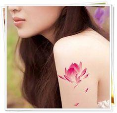 tatuagem de Flor de Lótus19