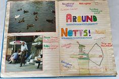 My Childhood Travel Journal Flip Through