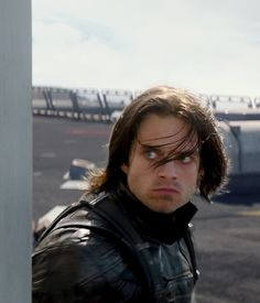 """The look he gave before disarming Falcon. It's like he's thinking """"you're not going anywhere bird boy!"""" And then Falcon went down."""