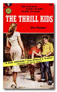 """The book may be a """"real shocker,"""" but her outfit is anything but. Perhaps she's one of the less-than-thrilling kids?"""