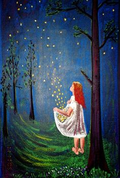 """""""Die Sterntaler"""" fairy tale by the Brothers Grimm"""