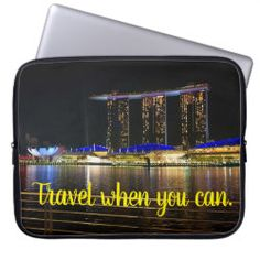 Choose from a variety of Travel laptop sleeves or make your own! Shop now for custom laptop sleeves & more! Computer Sleeve, When You Can, Travel Gifts, Canning, Life, Design, Bon Voyage, Home Canning