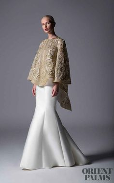 Edward Arsouni Frühjahr/Sommer 2019 - Pret-a-porter Malay Wedding Dress, Dresses To Wear To A Wedding, Bridal Dresses, Muslim Evening Dresses, Evening Gowns, Couture Mode, Couture Fashion, Gowns For Plus Size Women, Muslimah Wedding Dress