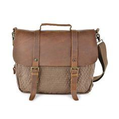#60407 Canvas Laptop Bag