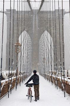New York City Feelings - Brooklyn Bridge by @mozleymcgrady