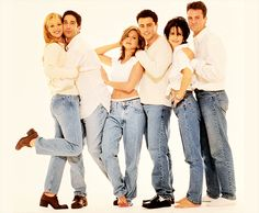 17 years ago yesterday, Friends debuted on NBC. God, I'm old.
