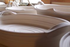 Trays Waiting for the Firing_Lucia Pottery