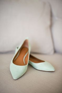 Madewell Mint Flats // Alison Dunn Photography These would be cuuuutteee with my dress!!