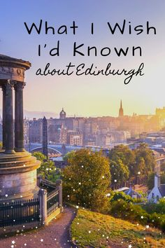 Looking for things to do in Edinburgh? Check out these fun things to do in Edinburgh, including the Scotch Whiskey Experience, exploring New Town, and Edinburgh Castle! Day Trips From Edinburgh, Edinburgh Travel, Edinburgh City, Edinburgh Castle, Edinburgh Scotland, Skye Scotland, England And Scotland, Scotland Travel, Scotland Trip