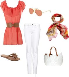 Summer Days, created by squinn712 on Polyvore