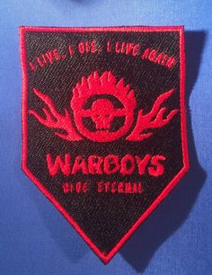 fd643920c60 Mad Max  Fury Road Badge Warboys Patch by MajesticFashion on Etsy