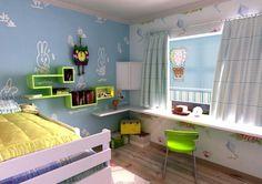 Fotoroleta z grafiką do pokoju małego chłopca.