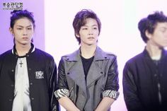 Junhui, Junghan and Hansol @ Like Seventeen Show 2013