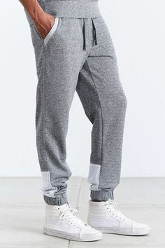 Staple Stealth Sweatpant - Urban Outfitters Mens Joggers, Sweatpants, Sport Fashion, Mens Fashion, Mens Activewear, Sport Wear, Jogger Pants, Lounge Wear, Urban Outfitters