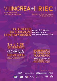 Blog do Sérgio Moura: VII INCREA e II RIEC - Seminário da Rede Internaci...