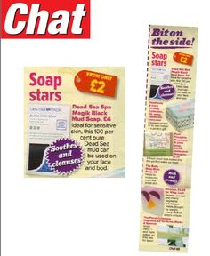 Check us out in Chat Magazine Soap Stars feature!