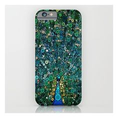:: Peacock Caper :: iPhone 6s Case ($35) ❤ liked on Polyvore featuring accessories, tech accessories, phone cases and iphone & ipod cases