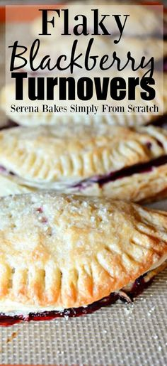 Flaky Blackberry Turnovers from serenabakessimply. Flaky Blackberry Turnovers from serenabakessimply. Fruit Recipes, Sweet Recipes, Cooking Recipes, Blackberry Dessert Recipes, Blackberry Turnover Recipes, Uk Recipes, Raspberry Recipes, Funnel Cakes, Easy Desserts