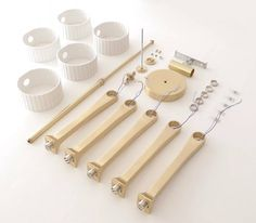 parts list to light fitting