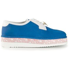 Swear By Keith Haring Louise Trainer ( 375) ❤ liked on Polyvore London  Shoes cdaae7fbdfa0