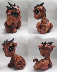 Bitty Baby Copper Dragon by BittyBiteyOnes.deviantart.com on @deviantART