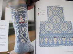 Happiness is a state of mind, and knitting is a state of happiness ! Knitting Charts, Loom Knitting, Knitting Stitches, Knitting Socks, Knitting Patterns Free, Crochet Patterns, Crochet Slippers, Knit Or Crochet, Intarsia Patterns