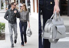 Kate Bosworth carries the Proenza Schouler PS13