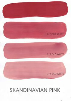 Swedish Paint Colors | Denim Rose | Chalk Paint® — Scandinavian Pink
